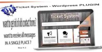 System ticket plugin embed wordpress