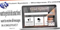 System ticket plugin embed wordpress