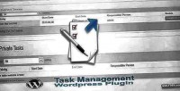 Task wordpress management manager task