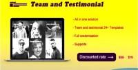 Team supaz & testimonials