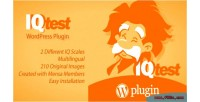 Test iq wordpress plugin