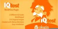 Test iq wordpress plugin