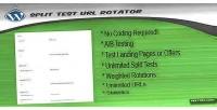 Split test url rotator wordpress for plugin