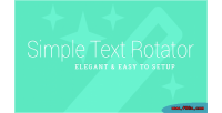 Text simple plugin wordpress rotator