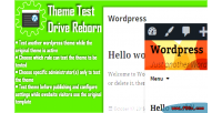 Theme wordpress reborn drive test