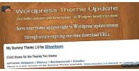 Theme wordpress update