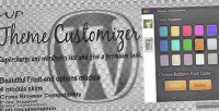 Theme wp customizer