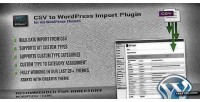 To csv plugin import wordpress
