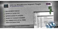 To csv plugin import wordpress