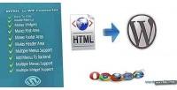 To html wordpress converter