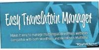 Translation easy wordpress for manager