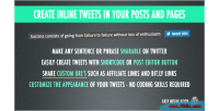 Tweet this share on plugin wordpress twitter