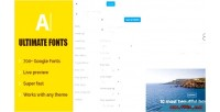 Ultimate fonts customize font for any element in site wordpress your
