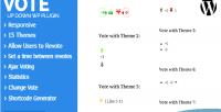Up vote plugin wordpress down
