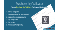 Verifier purchase marketplace envato for