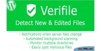 Verifile wp detect files edited new