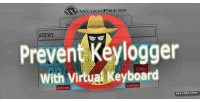 Virtual wp keyboard prevention keylogger login