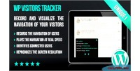 Visitors wp tracker