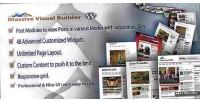 Visual massive wordpress for builder