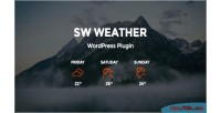 Weather sw wordpress plugin forecast weather