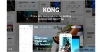 Website kong plugin wordpress builder