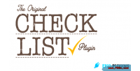 Wordpress checklist plugin builder list check