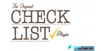 Wordpress checklist plugin builder list check