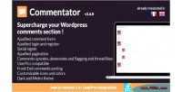 Wordpress commentator plugin