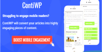 Wordpress contiwp truncate plugin articles mobile