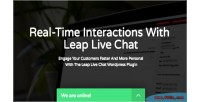 Wordpress leap plugin chat live