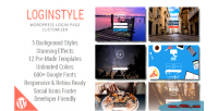 Wordpress loginstyle styler page login