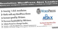 Wordpress revolution ajax loader