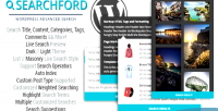 Wordpress searchford advanced search