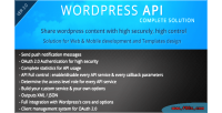 Wordpress smio solution complete api