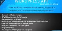Wordpress smio solution complete api
