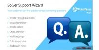 Wordpress solver support wizard