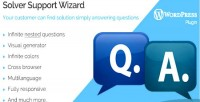 Wordpress solver support wizard
