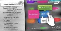 Wordpress touchtooltip plugin