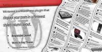 Wordpress winterest plugin