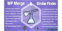 Wp merge similar finder tool seo optimization