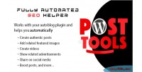 Wp post tools fully automated seo helper for your auto plugin blog