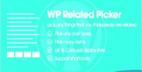 Wp related picker pick any things you thinks related are really