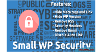 Wp small security