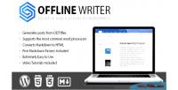 Writer offline