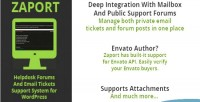 Zaport wp helpdesk forum support ticket and