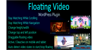 Video floating for wordpress