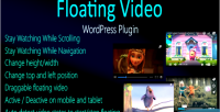 Video floating for wordpress
