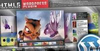 Video html5 plugin wordpress player