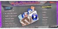 Videos wordpress embedder pro