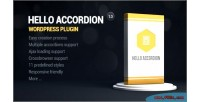 Accordion hello wordpress widget